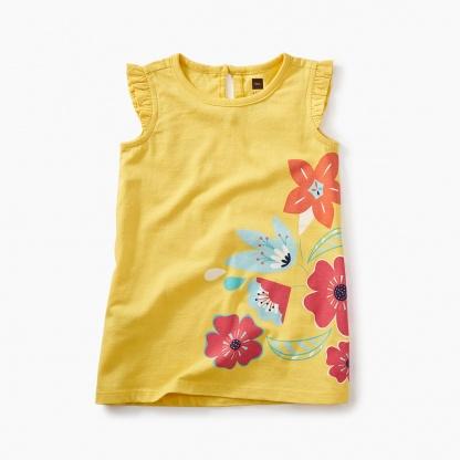 Vib Bouquet Graphic Baby Dress