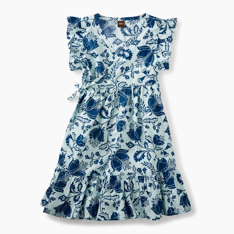 Woven Wrap Dress