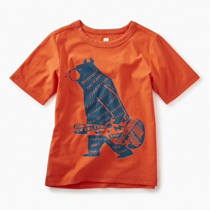 Band Bear Graphic Tee