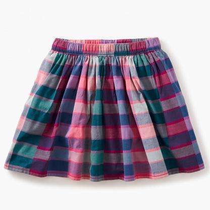 Plaid Twirl Skirt