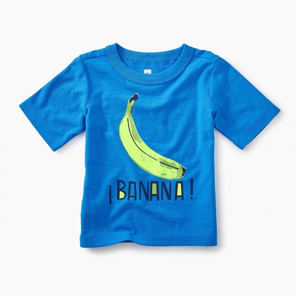 Banana Graphic Baby Tee