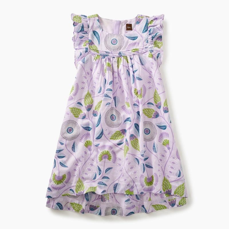 Blooming Floral Hi-Lo Dress
