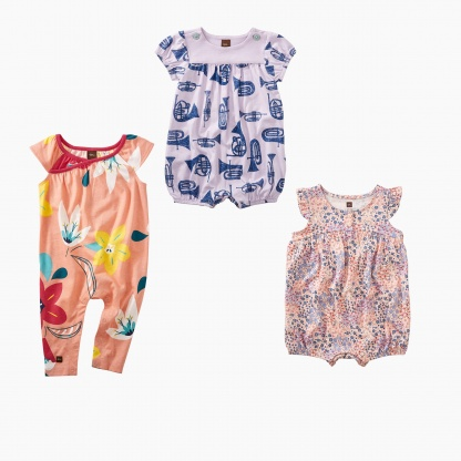 Jazzy Rompers Sets