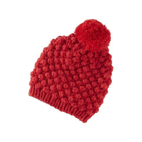 Le Big Bobble Knit Hat   Tea Collection