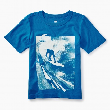 Photoreal Surf Graphic Tee