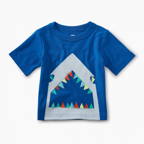 Great White Graphic Baby Tee