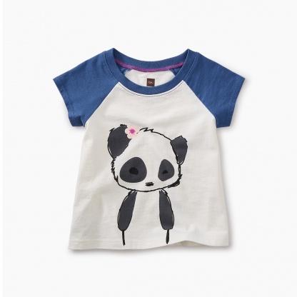 Little Panda Graphic Baby Tee