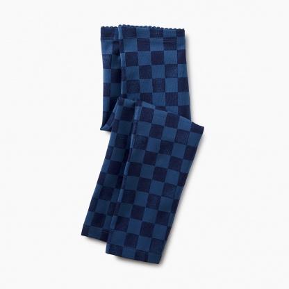 Checkered Capri Leggings