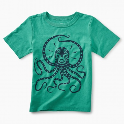 Octo Luchadore Graphic Tee