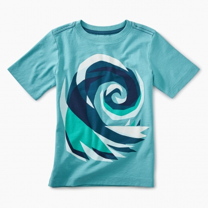 Crashing Wave Graphic Tee