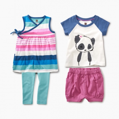 Panda With Pockets Set