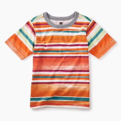Painterly Stripe Tee