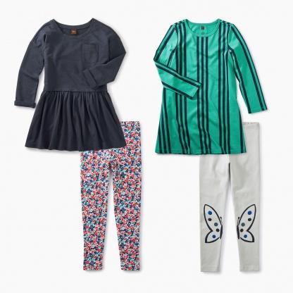 Patterns & Pleats Dress Set