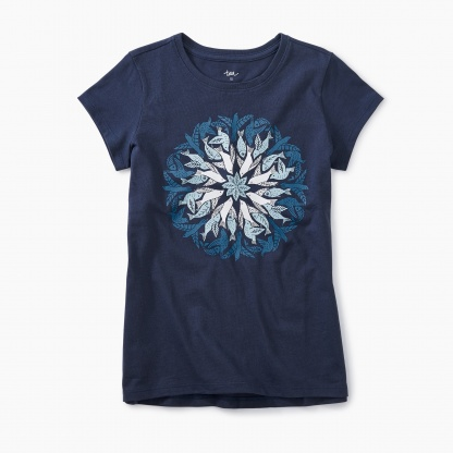Seaside Mandala Graphic Tee