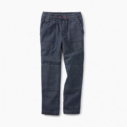 Indigo Canvas Explorer Pants