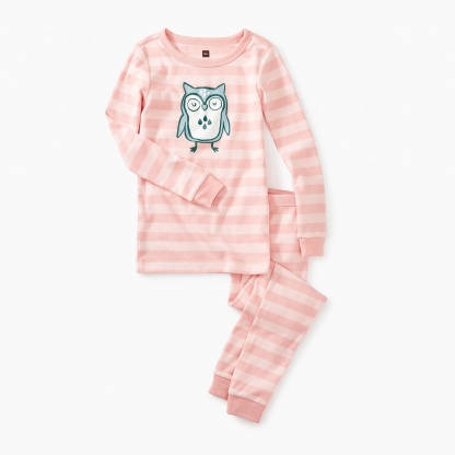 Wise Owl Graphic Pajamas