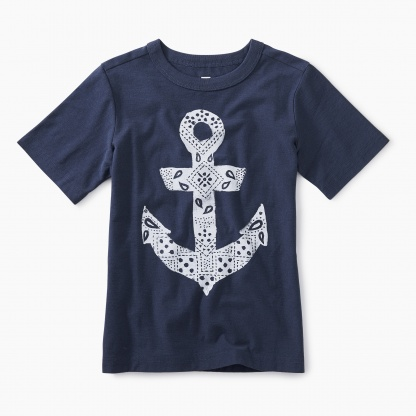 Bandana Anchor Graphic Tee
