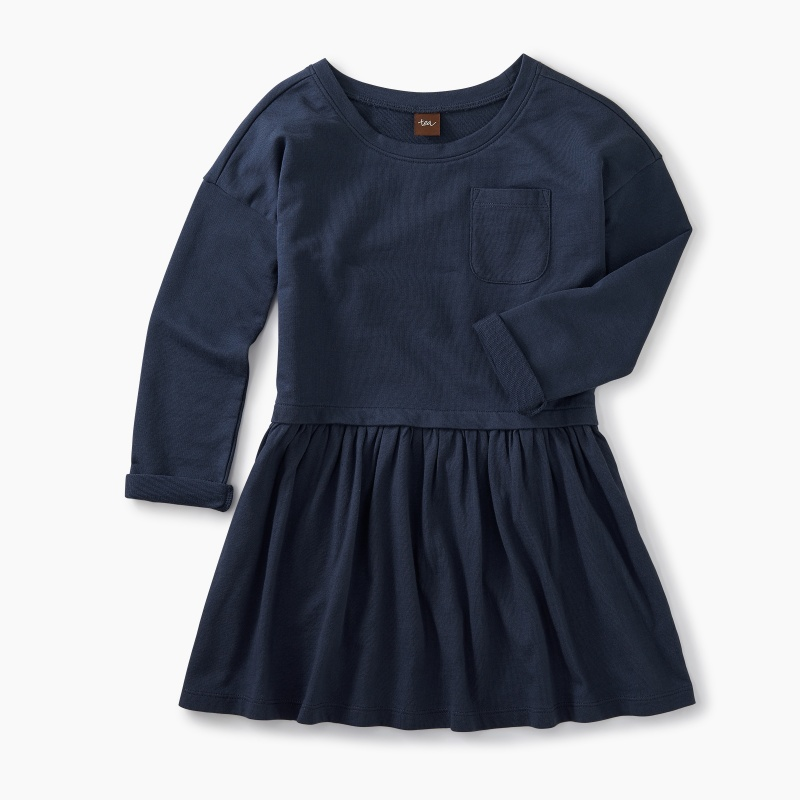 Solid Pocket Play Dress