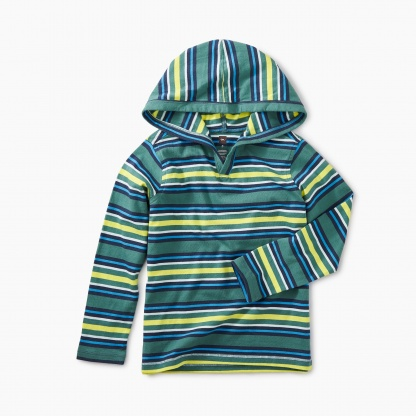 Striped Happy Hoodie