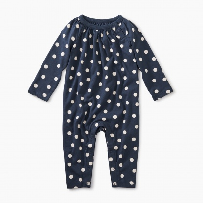 Stamped Dots Romper