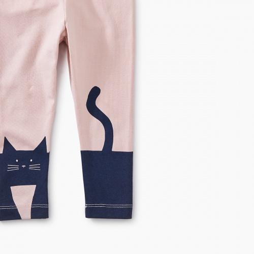 Curious Cat Baby Leggings