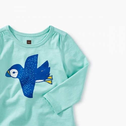 Playful Puffin Graphic Tee