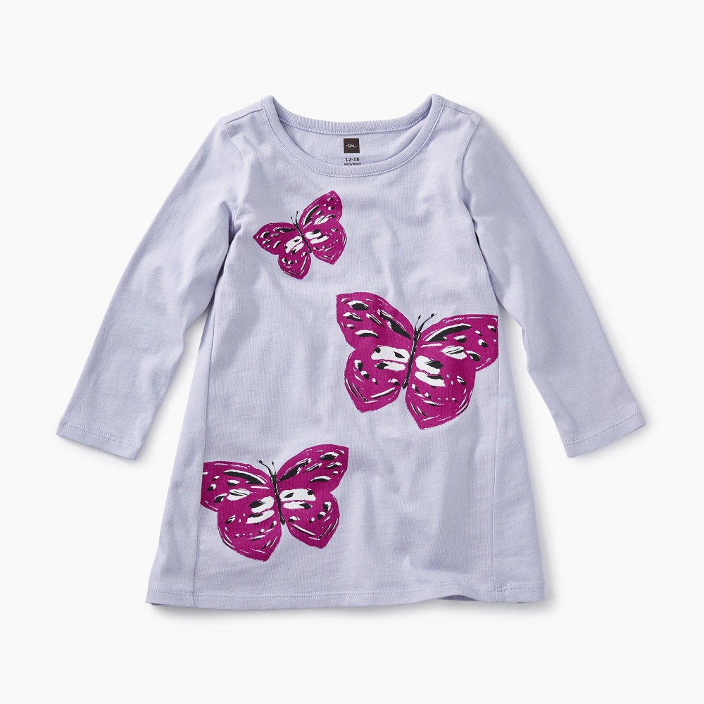 Butterfly Graphic Baby Dress