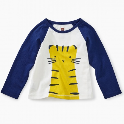 Tiger Raglan Graphic Tee