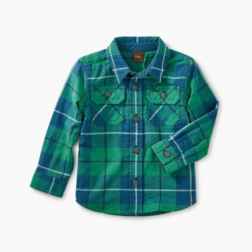 Double Weave Baby Shirt