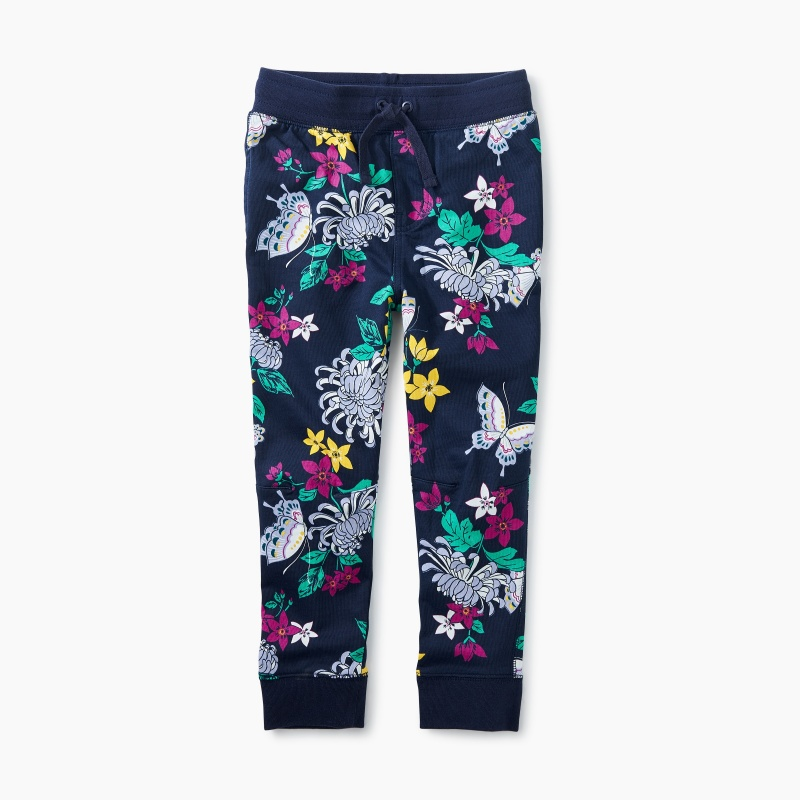 Blooms and Butterflies Joggers