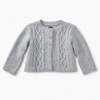 Donegal Cable Baby Cardigan