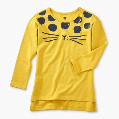 Spotted Cat Tunic Top