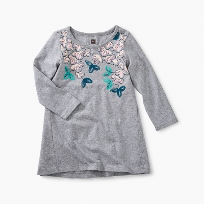 Blossoms Graphic Baby Dress