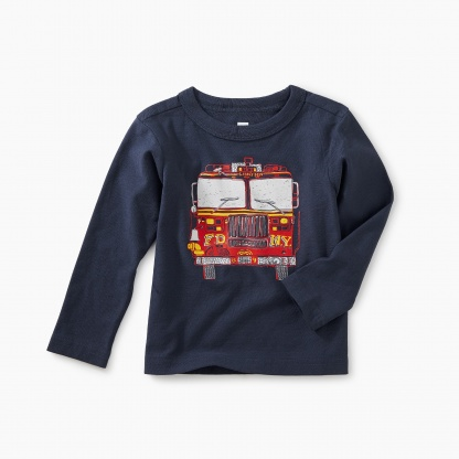 Fire Truck Graphic Tee