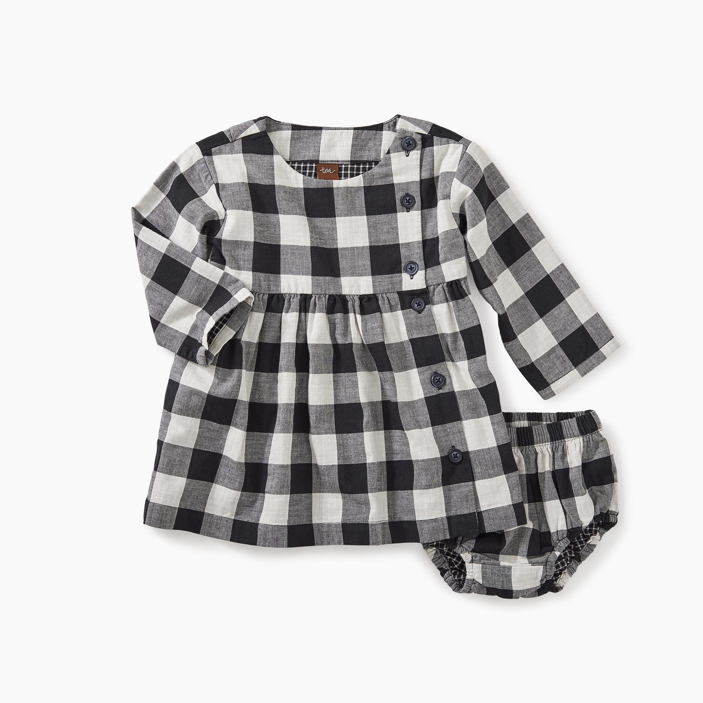 52b2c472c Checkered Plaid Baby Dress