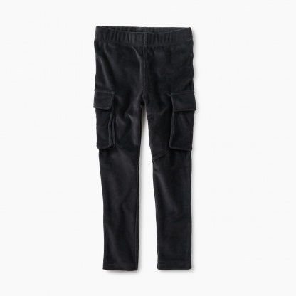 Velour Cargo Pant
