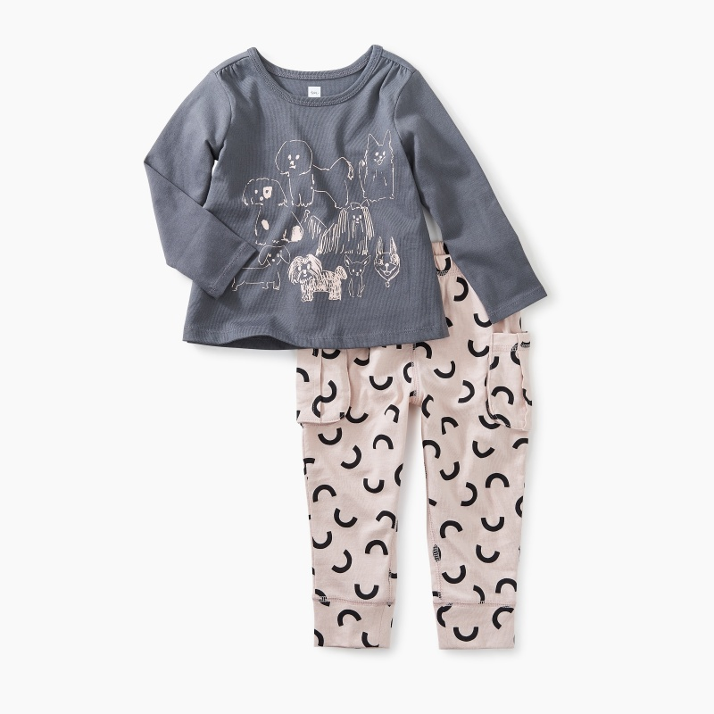 Park Pooches Baby Set