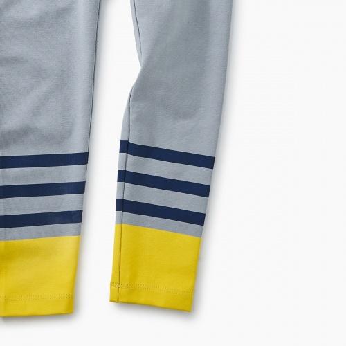Graphic Stripe Leggings