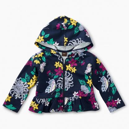 Blooms Baby Zip Hoodie