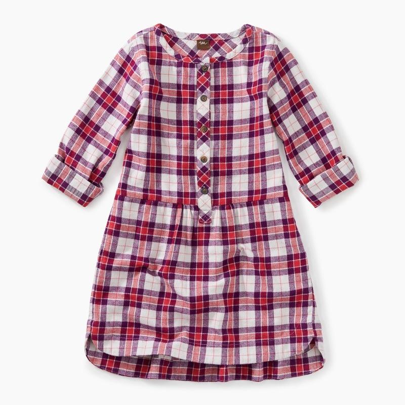 Flannel Shirtdress