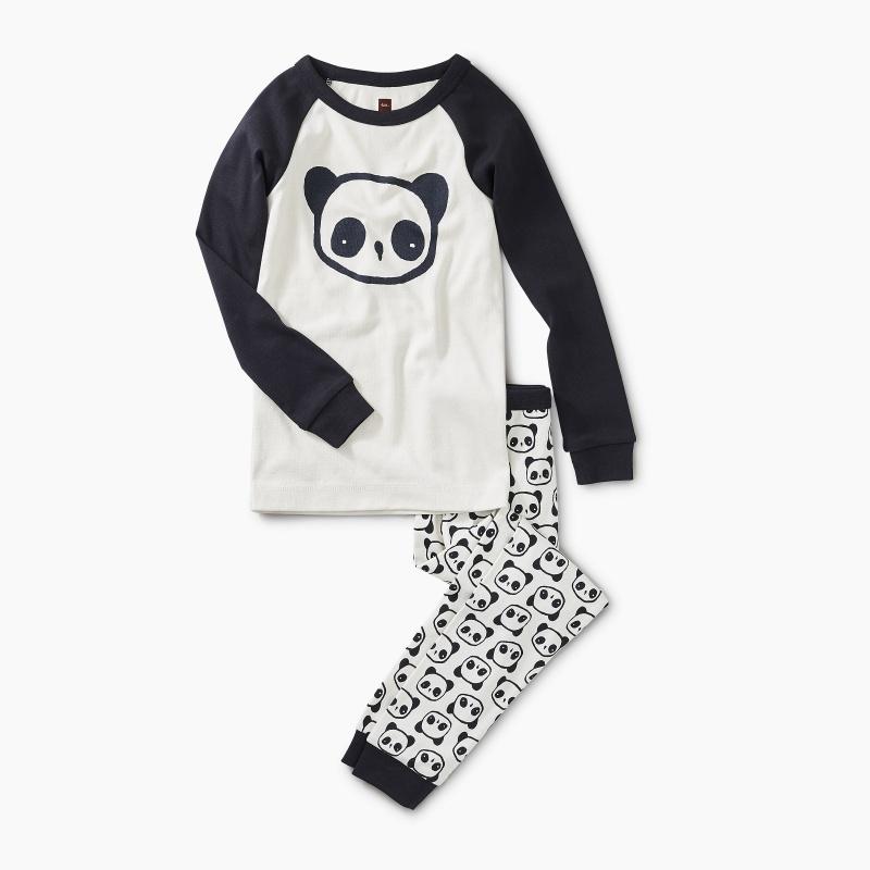 Panda Pal Graphic Pajamas
