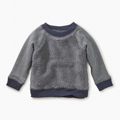 Sherpa Fleece Baby Sweatshirt