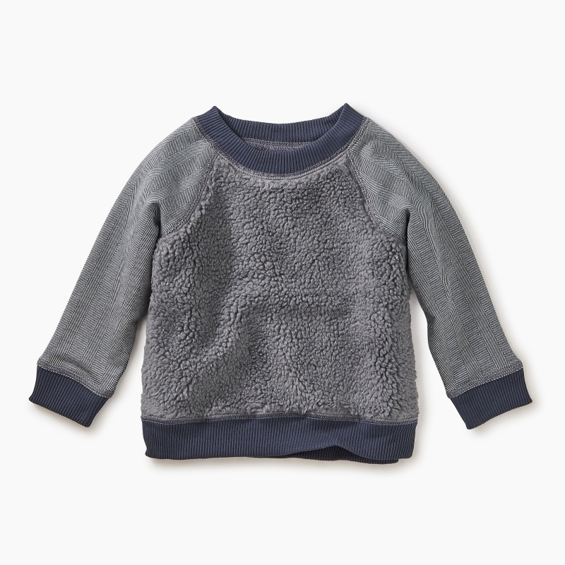 Sherpa Fleece Baby Sweatshirt