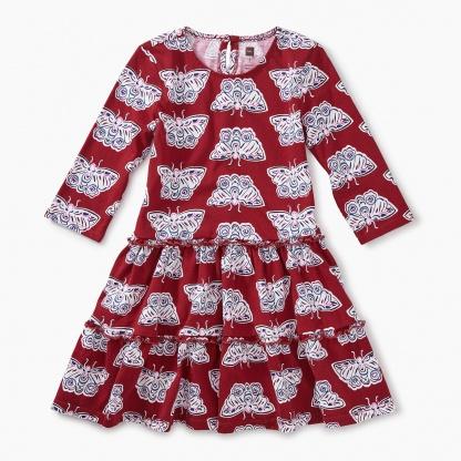 Tiered Winter Dress