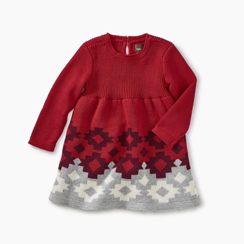 Tularosa Geo Sweater Dress