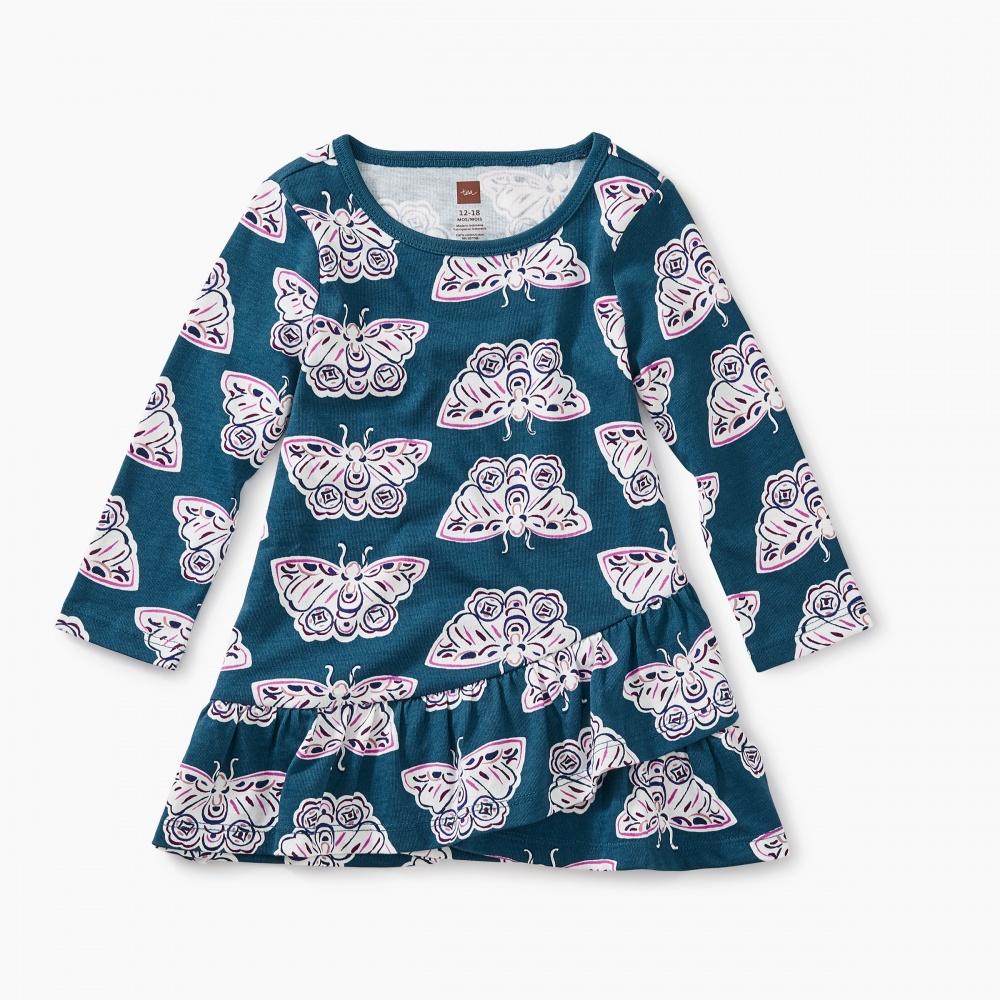 Ruffle Hem Baby Dress