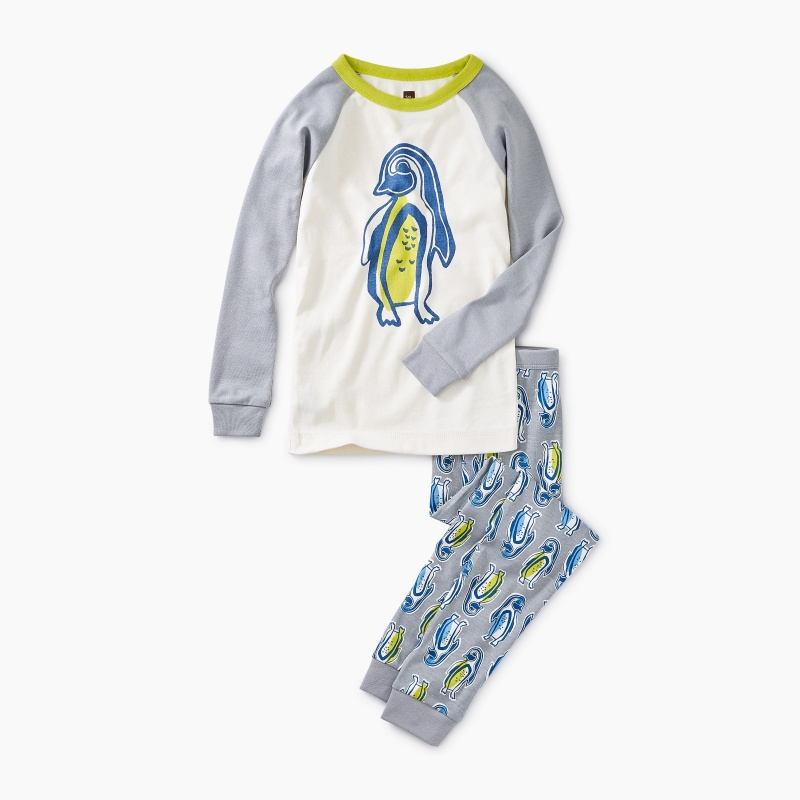 Penguin Pal Graphic Pajamas
