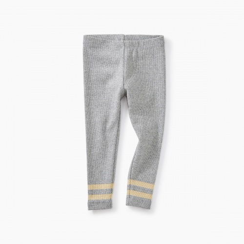 Sparkle Stripe Rib Baby Leggings