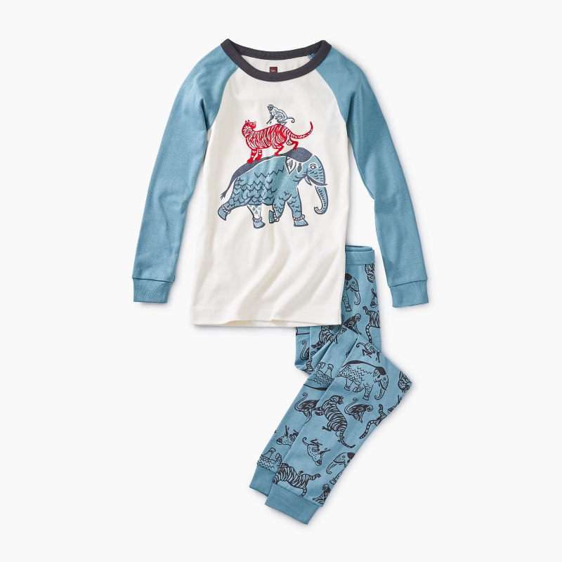 Hitchin a Ride Graphic Pajamas
