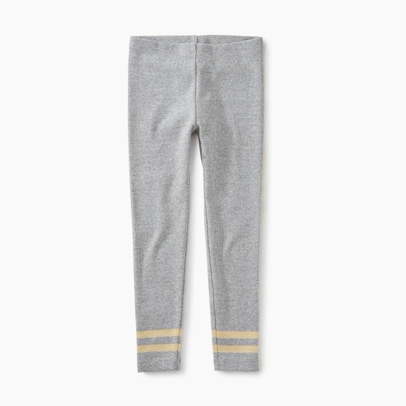 Sparkle Stripe Rib Leggings